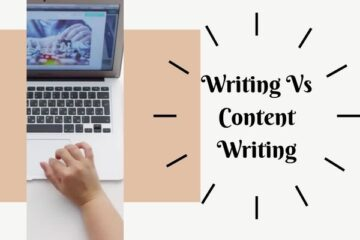 Writing-Vs-Content-Writing-Online
