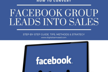 Convert Facebook Group Leads into Sales